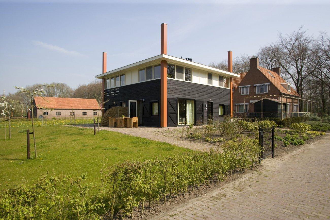 Eco wonen duurzaam biobased d b architecten arnhem for Wonen op een landgoed